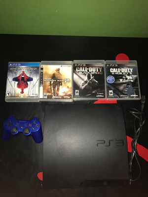 """PS3-250 gb """"need gone ASAP"""" for Sale in Arlington, TX"""