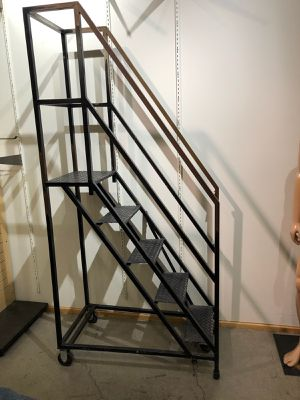 Standing ladder with wheels for Sale in Carlsbad, CA