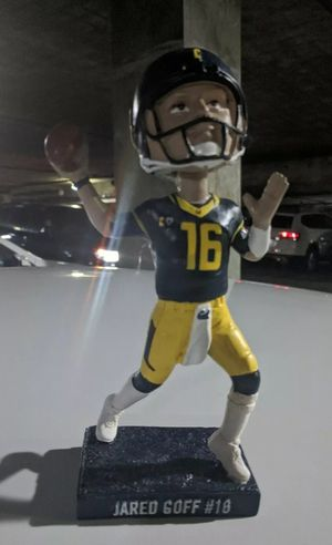Jared Goff CAL 11/17 Bobblehead $50 for Sale in Los Angeles, CA
