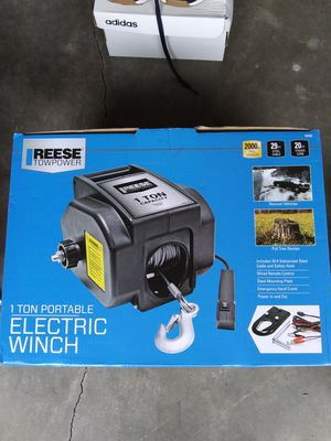 Reese towpower 1 ton electric winch for Sale in Enumclaw, WA