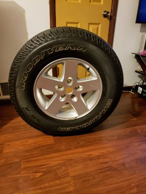 One tire and rim for Sale in Elgin, IL