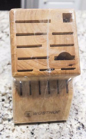 Wusthof 17-Slot Knife Block - Brand New for Sale in Southlake, TX