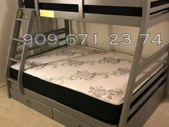 TWIN/FULL BUNK BEDS W MATTRESS INCLUDED. for Sale in Anaheim,  CA