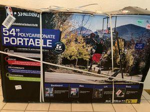 "New Basketball hoop - Spalding 54"" unopened for Sale in Modesto, CA"