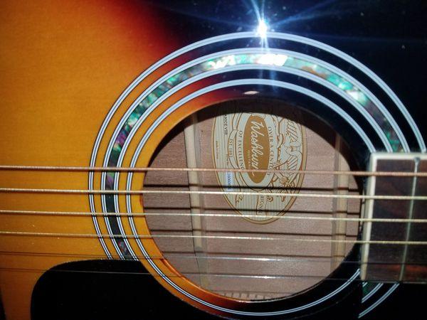 Washburn electric acoustic guitar