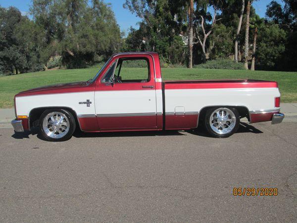 1983 C10 restored custom show TRADE?