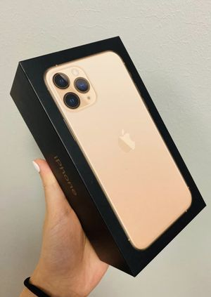 Open box rose gold AT&T/ cricket iPhone 11 pro 512gb for Sale in Atlanta, GA