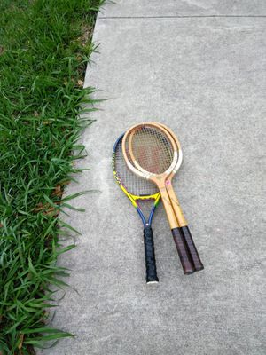 Vintage tennis rackets for Sale in Pflugerville, TX