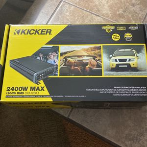 Brand New Kicker Amplifier for Sale in Spring Valley, NV