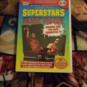 Wwf Superstars Entrance Music Videos Dvd for Sale in Chicago, IL