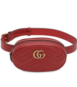 GUCCI MARMONT LEATHER BELT BAG SMALL SIZE for Sale in Tempe, AZ