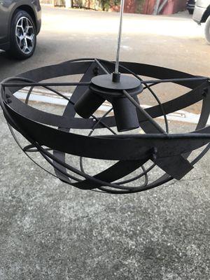 """Lighting fixture: Orbital Weave 15 3/4"""" rust metal ceiling light for Sale in Oakland, CA"""