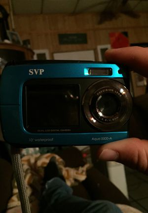 SVP Aqua 5500-A Waterproof camera for Sale in Lake City, AR