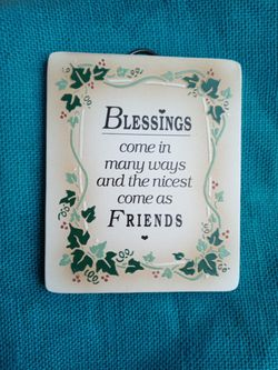 NEW BlessingsComeInManyWaysPlaque for Sale in Chicago,  IL