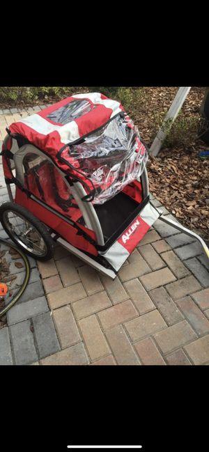 Allen two seater bike trailer like new hasn't been used in years for Sale in Wesley Chapel, FL