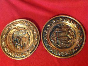 Copper plates, decor for Sale in Reedley, CA