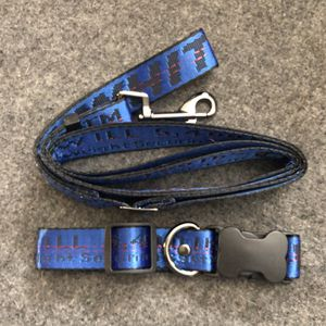 """Blue """"Off-White"""" Dog Leash & Collar Set for Sale in Anaheim, CA"""