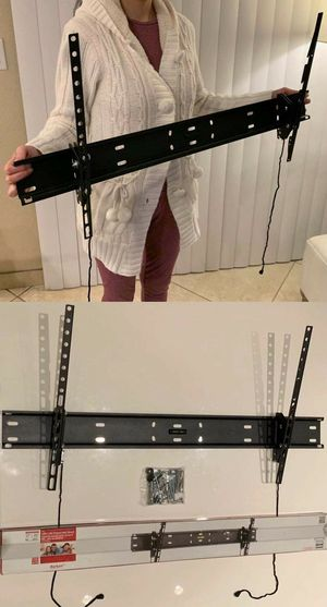 "NEW 37 40"" 42"" 46 50 52"" 55 60"" 70 75"" 80 inches tilt tilting tv television wall mount bracket 110 lbs capacity for Sale in Pico Rivera, CA"