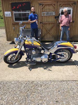 2006 fat boy screaming eagle 103 motor bike is like brand new 11,500 for Sale in Zanesville, OH