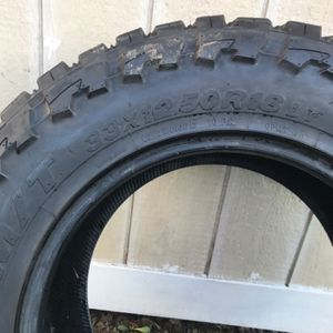 2)open Country Tires M/T33/12.50/18 Tires Are And Good Condition 60to 70%thred Left for Sale in Kent, WA