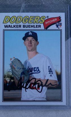 Walker Buehler Rookie for Sale in Whittier,  CA