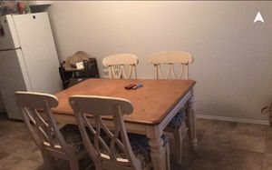 Kitchen table with 4 chairs for Sale in Oceanside, CA