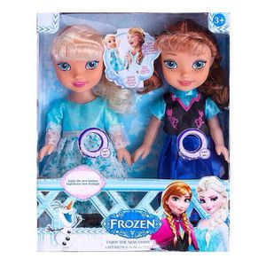 Frozen Elsa and Anna Doll Set Sing and Music for Sale in Kissimmee, FL