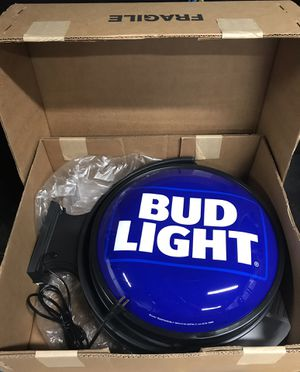 Bud Light bar sign for Sale in MONTGOMRY VLG, MD