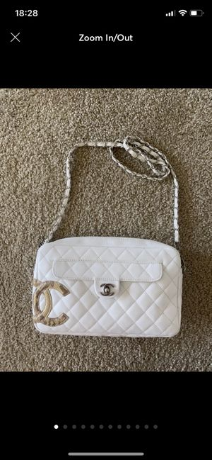 Chanel Cambon Python Quilted Ligne Flap for Sale in Washington, DC