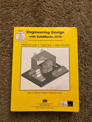 Engineering design with solid work book for Sale in Rancho Cucamonga, CA
