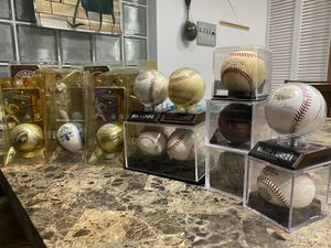 Signed baseballs and World Series balls for Sale in Lake Worth, FL