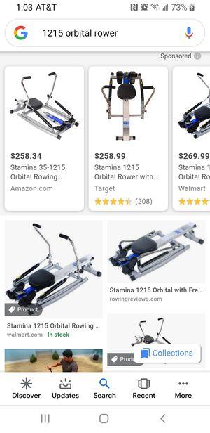 Orbital Rower / Row Machine for Sale in Tacoma, WA