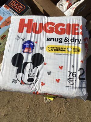 Huggies snug and dry diapers for Sale in Kingsburg, CA