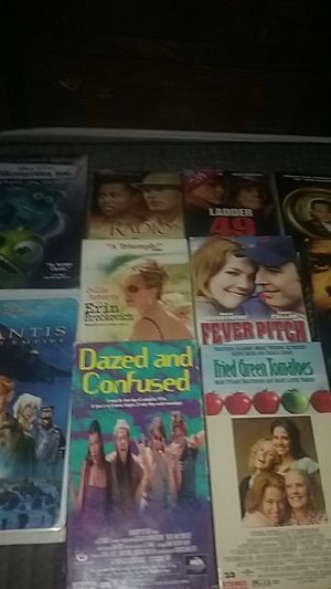 VHS movies all good for Sale in Louisburg, MO