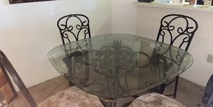 Dining room table w/chairs set for Sale in Beaverton, OR