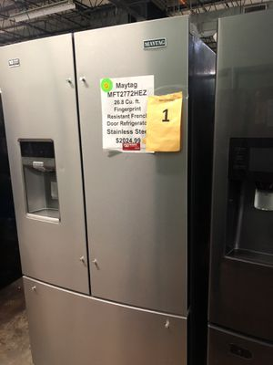Maytag French door fridge with warranty for Sale in Chicago, IL