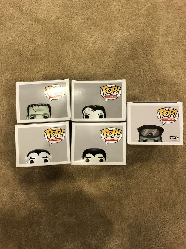 Funko pop munster full set