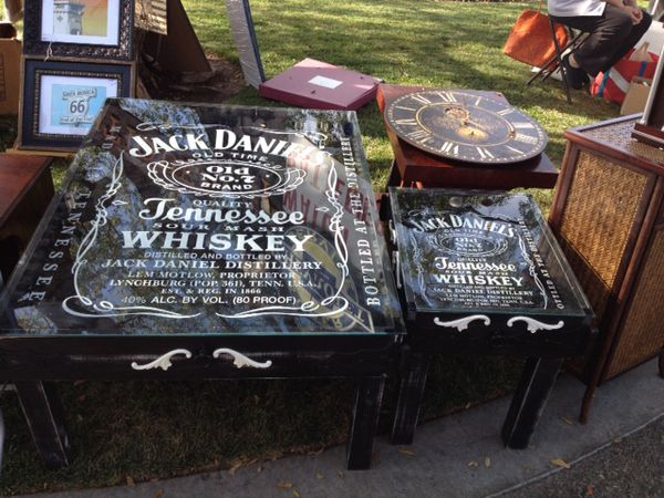 Jack Daniels coffee table & End table