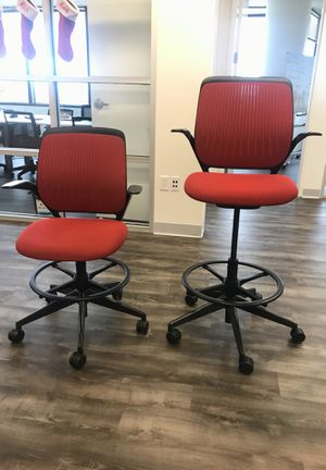 Steelcase Cobi Chairs - big height adjustment range! for Sale in West Palm Beach, FL