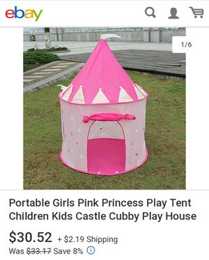 Princess playhouses. for Sale in Los Angeles, CA