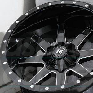"20"" Xtreme Mudder Wheels with 33"" MT Tires Silverado Tahoe Sierra Jeep Wrangler for Sale in Orange, CA"
