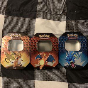 Pokemon Hidden Fates Tins for Sale in North Andover, MA
