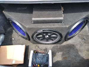 Whole car audio system with touchscreen for Sale in Waterbury, CT