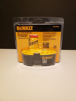 DeWalt XRP 18volt Battery for Sale in Auburn, WA