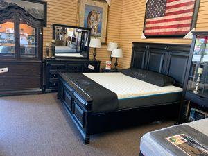4-pcs bedroom set on sale @ elegant furniture 🎈🛋 for Sale in Fresno, CA