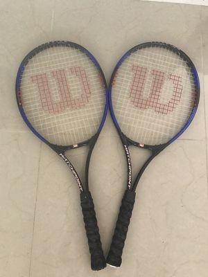 2 Wilson Tennis Rackets for Sale in Escondido, CA