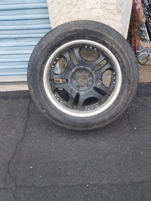20 inch rims and tire for Sale in Mesa, AZ