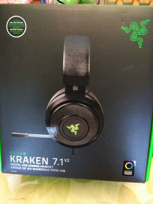 Razer Kraken 7.1 V2 PC/Mac Headset *New* for Sale in Cape Coral, FL