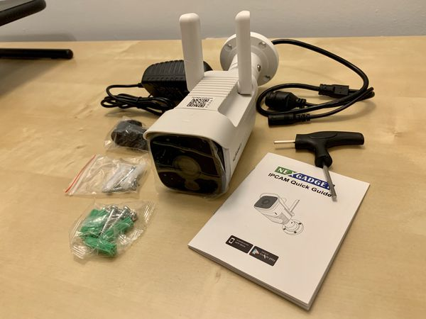 Wireless Security Camera, Brand New!