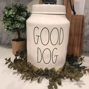 Rae Dunn Good Dog Canister for Sale in Fresno, CA